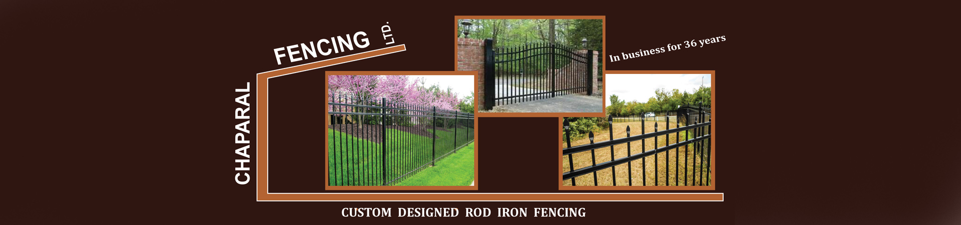 road iron fencing
